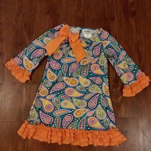 Girl's paisley dress